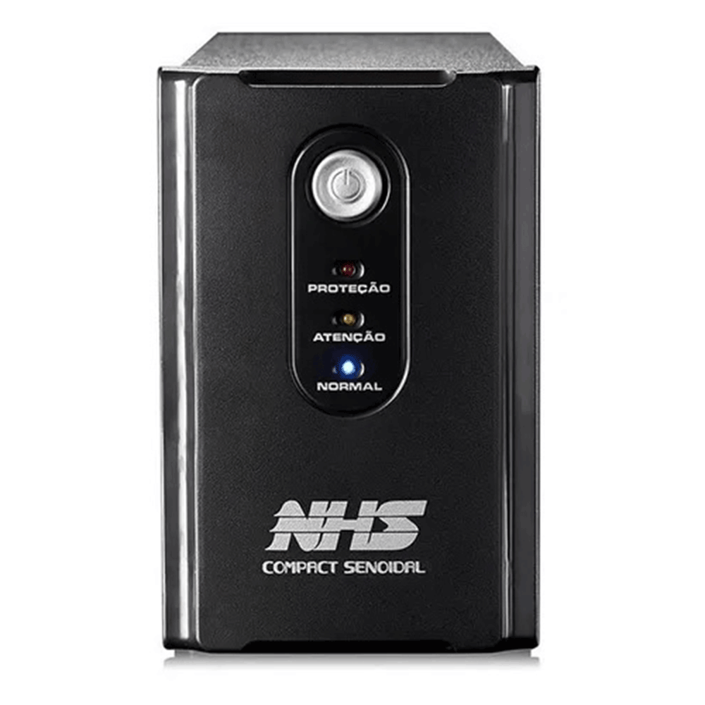 Nobreak Nhs Compact Senoidal 1000va 600w B 2x7ah 8T E120/220v S120v