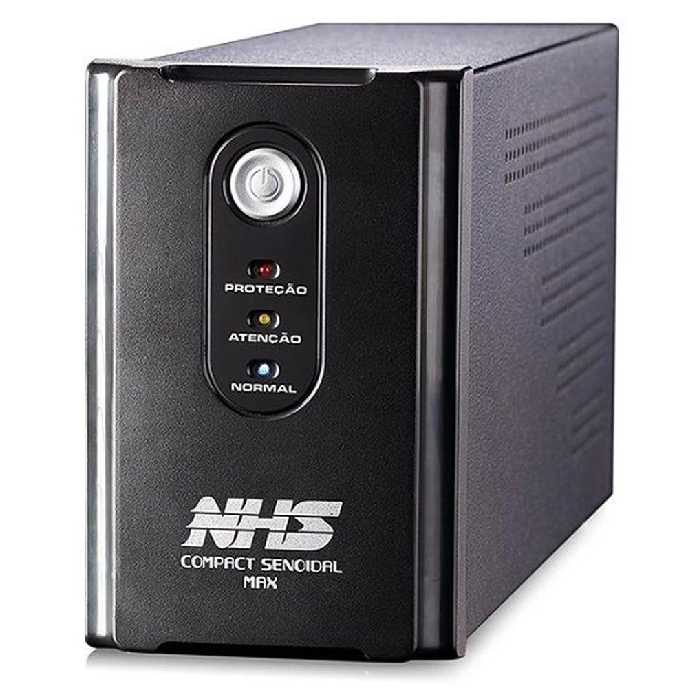 Nobreak Nhs Compact Senoidal Max Bi 1400va 840w B 2x9ah 6t E120/220v S120v Com Engate