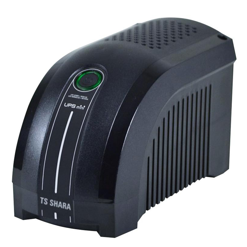 Nobreak Ts Shara Ups Mini 600Va Bivolt 6T Preto