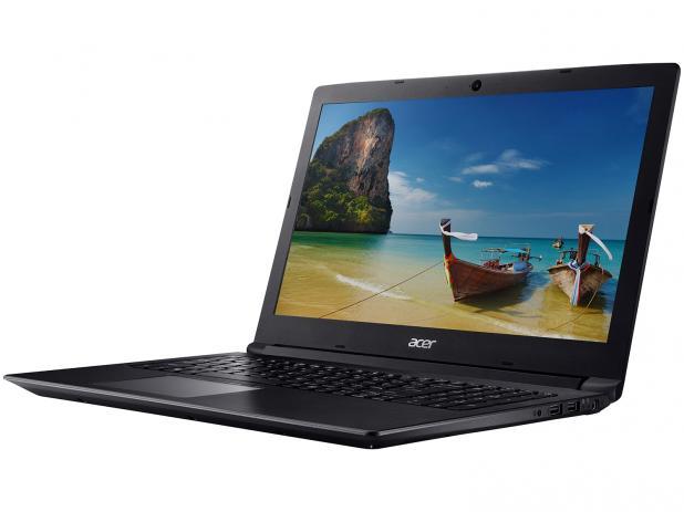 "Notebook Acer A315 Core I3 8130u Memoria 8gb Hd 1tb Ssd 480gb Tela 15.6"" Sistema Windows 10 Pro"