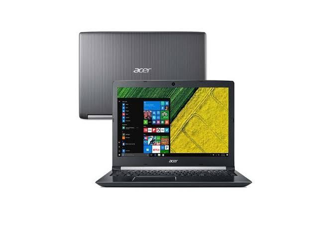 Notebook Acer Aspire A315 Core I5 7200u Memoria 8gb Hd 1tb Ssd 240gb Tela 15.6'' Led Lcd Sistema Windows 10 Home