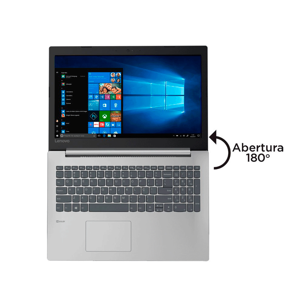 Notebook Lenovo B330 Core I3 7020u Memoria 4gb Ssd 240gb Tela 15.6' Hd Windows 10 Home