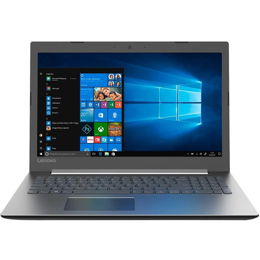 "Notebook Lenovo Ideapad 330 Intel Core I3-7020u Memoria 4gb Ddr4 Ssd 480gb Tela 15,6"" Hd Sistema Windows 10 Pro"