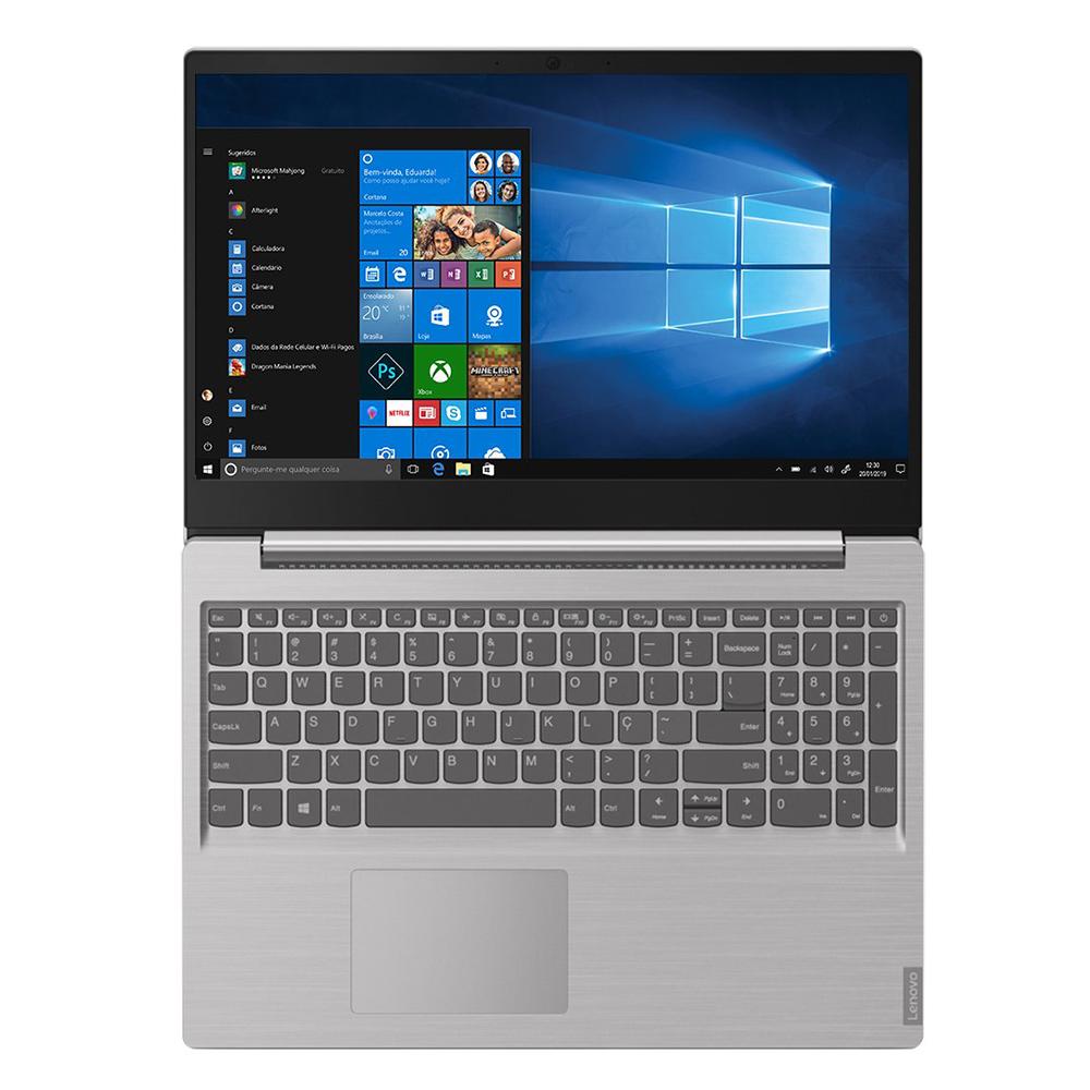 "Notebook Lenovo Ideapad S145 Intel Core I5-1035g1 Memória 4gb Ddr4 16gb Optane Hd 1tb Tela 15,6"" Hd Windows 10 Home"