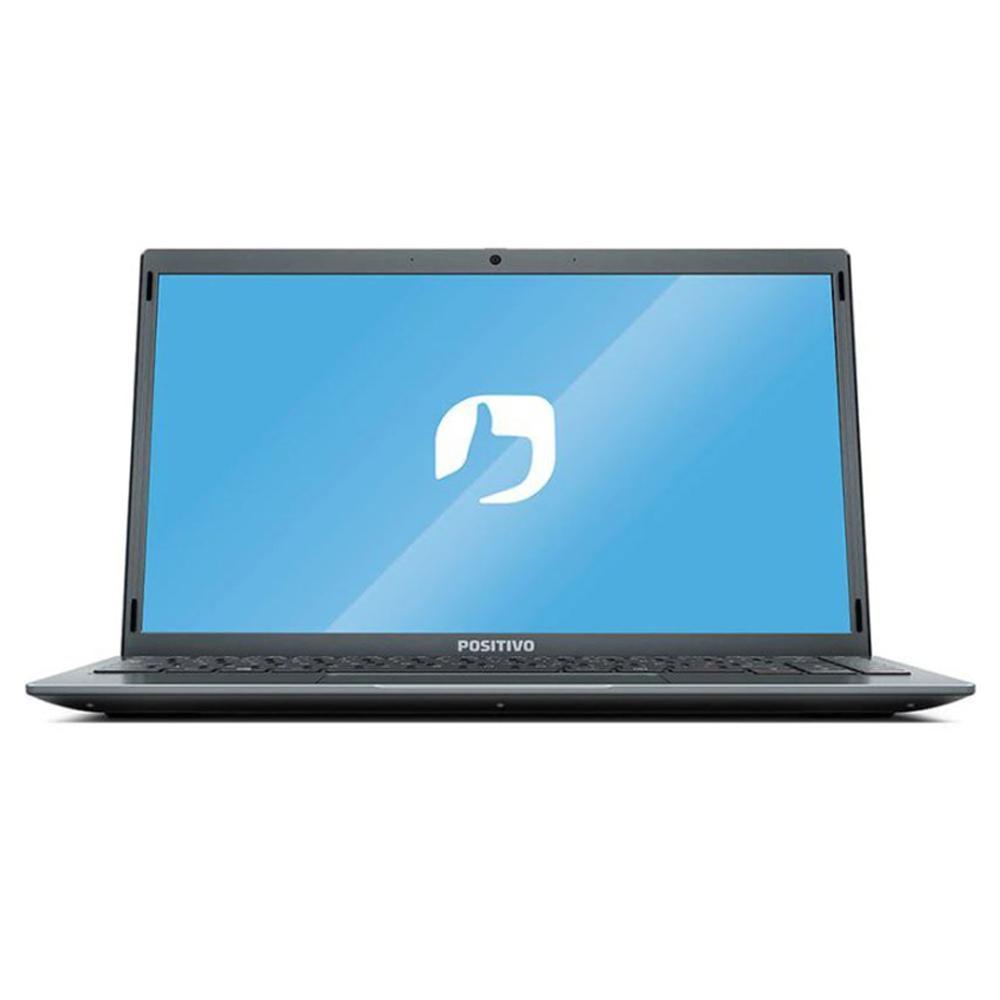 "Notebook Positivo C4128ei Celeron N3350 4gb Ddr4 Ssd 480gb Tela 14"" Hd Led Windows 10 Pro + Ganhe Fone Philips Taue100bk"