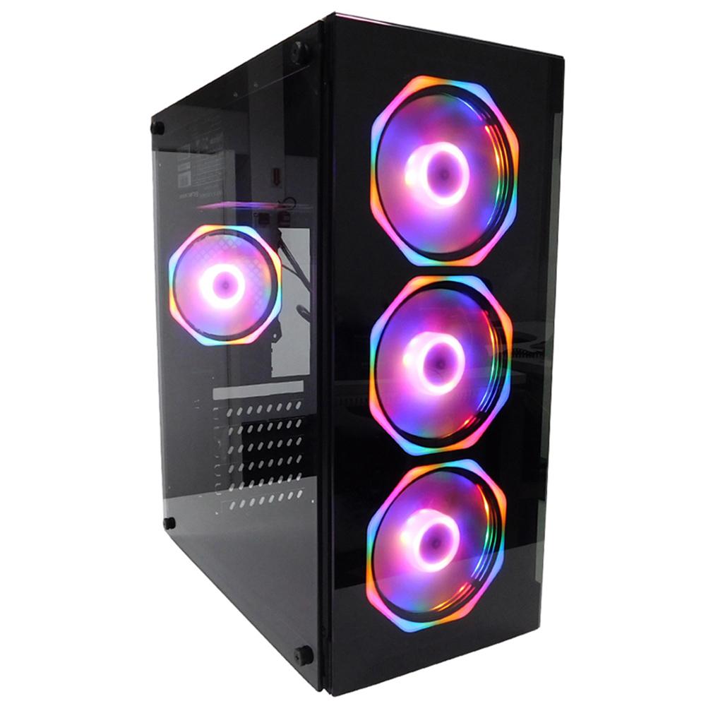 Pc Gamer One Concórdia Completo Monitor De 27''  Core I5 Memória 8gb Hd 1tb Placa De Vídeo Rx 550 4gb Com Wifi