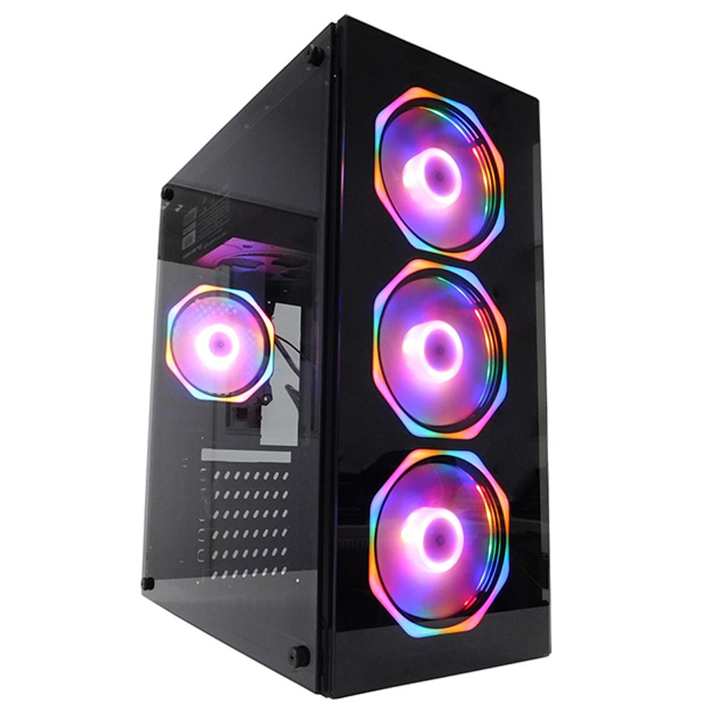 Pc Gamer One Concórdia Processador Core I5 Memória 8gb Hd 1tb Ssd 240 Gb Placa De Vídeo Rx 550 4gb Com Wifi