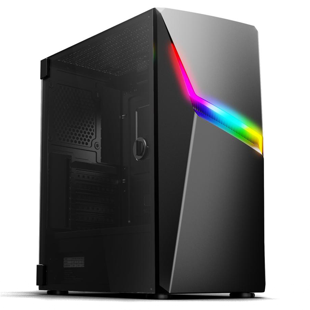 Pc Gamer Top Concórdia Processador Ryzen 5 3400g 8gb Hd 1tb Ssd 120gb 4gb Com Wifi