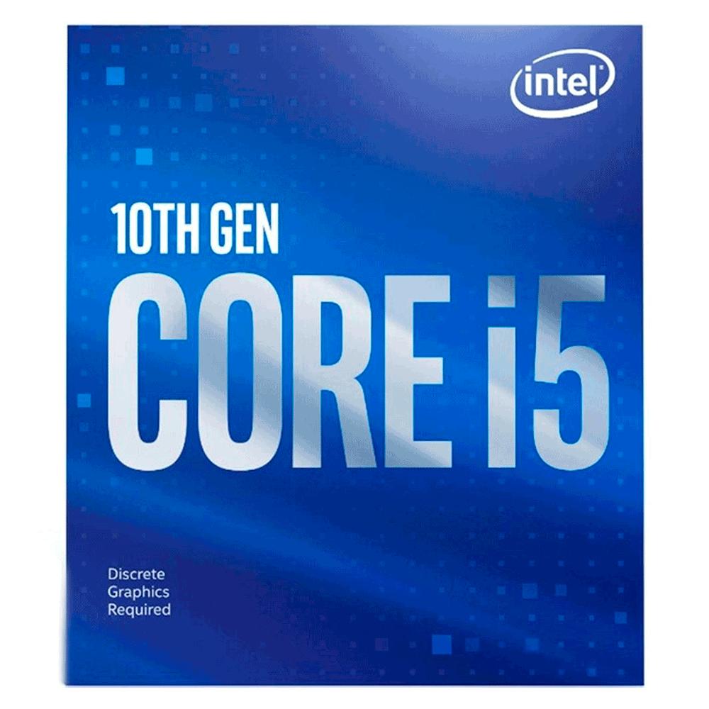 Processador Intel Core I5-10400f, Cache 12mb, 2.9ghz (4.3ghz Max Turbo), Lga 1200