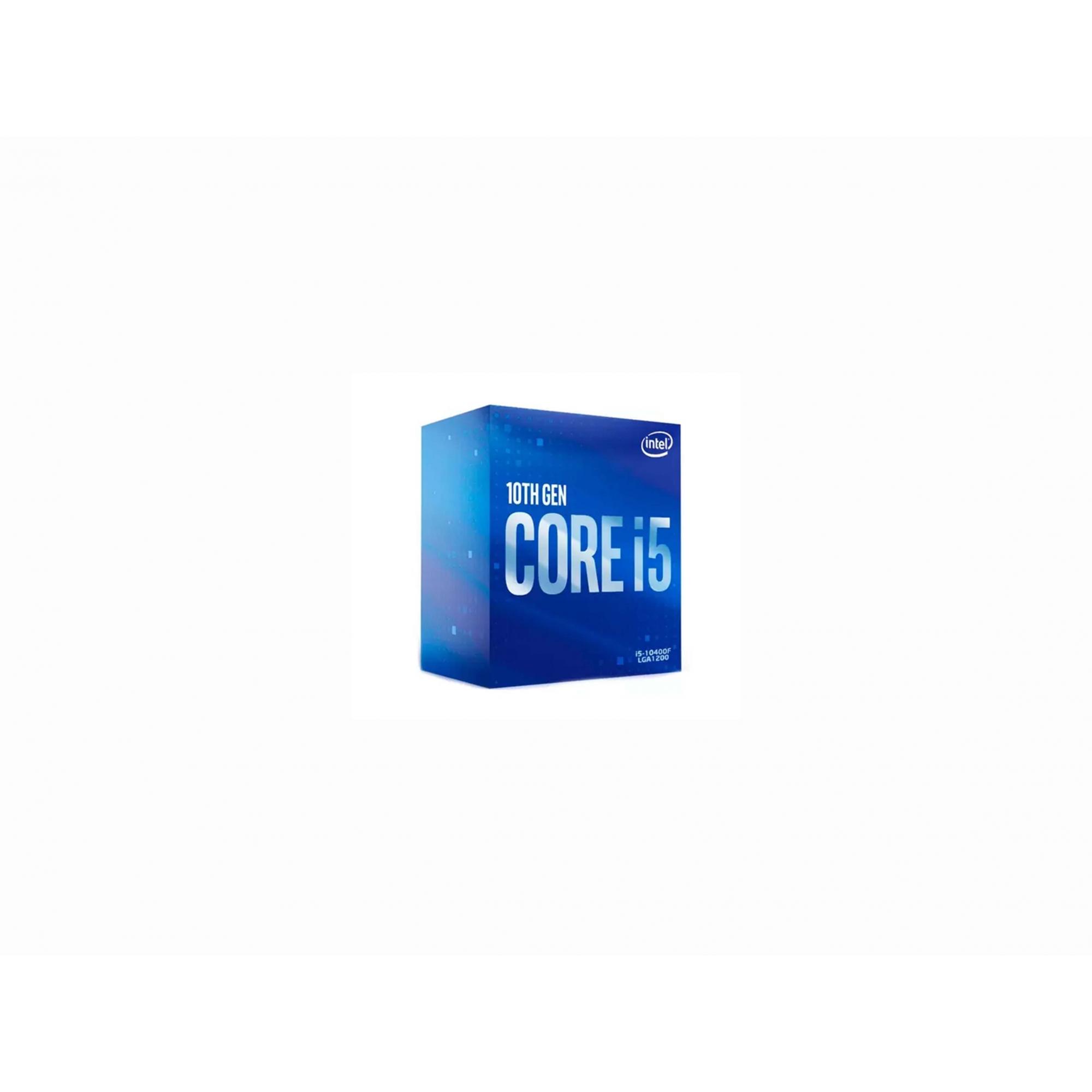 Processador Intel Core I5-10400f, Cache 12mb, 2.9ghz (4.3ghz Max Turbo), Lga 1200 - Nacional