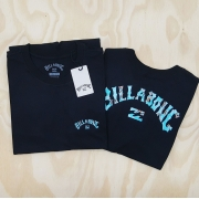 Camiseta Billabong Arch Preto