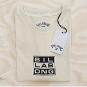 Camiseta Billabong Hemp Arch Amarelo