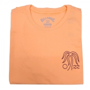Camiseta Billabong Oasis Salmão