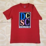 Camiseta DC Big Caps Vermelha
