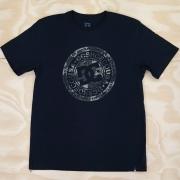 Camiseta DC Circle Star Camo Preta