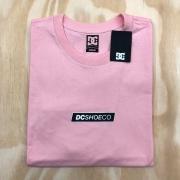 Camiseta DC Diaginal Tape Rosa