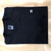 Camiseta DC Embroidery Star Preta