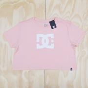 Camiseta DC Feminina Star Cropped Rosa