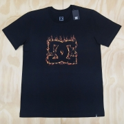 Camiseta DC Fuego Preta