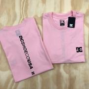 Camiseta DC shoes 2 Rosa