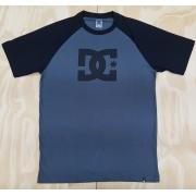 Camiseta DC Star Reglan Cinza