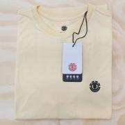 Camiseta Element Basic Crew Amarelo