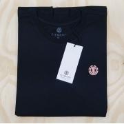 Camiseta Element Feminina Minimal Logo Preto