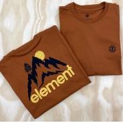 Camiseta Element Goletta Marrom