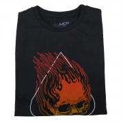 Camiseta MCD Skull Frame Preta