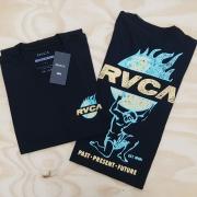 Camiseta RVCA Atlas Preta
