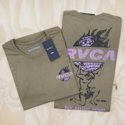 Camiseta RVCA Atlas Verde