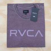 Camiseta RVCA Big Stone Roxo