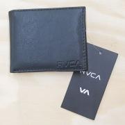 Carteira RVCA Cresp Bifold Preta