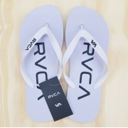 Chinelo RVCA Trench Town Branco