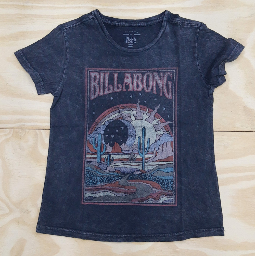 Blusa Billabong Midnight Ravers