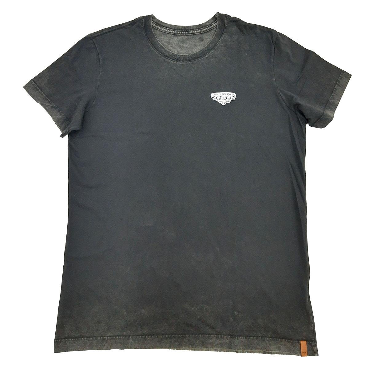 Camiseta Anti Social Inverse Stoned