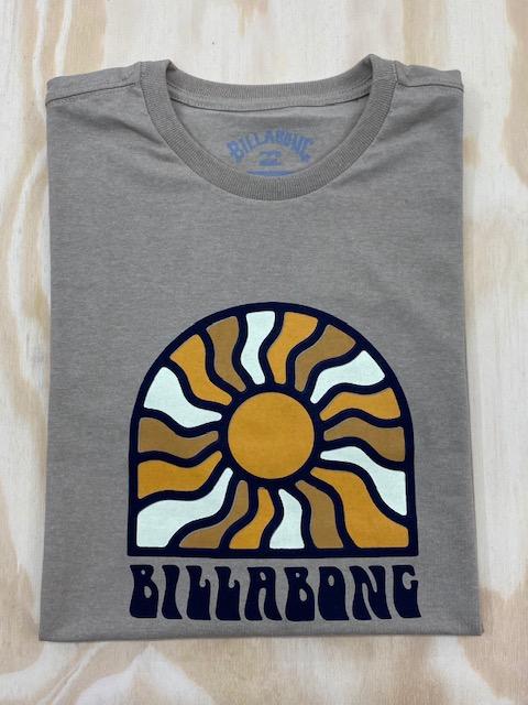 Camiseta Billabong Arch Sun I Areia