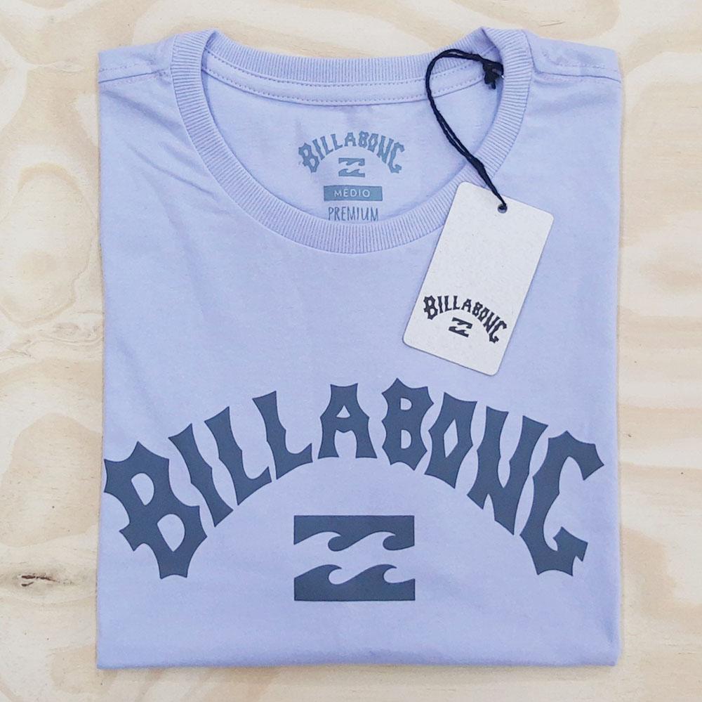 Camiseta Billabong Arch Wave Lilas