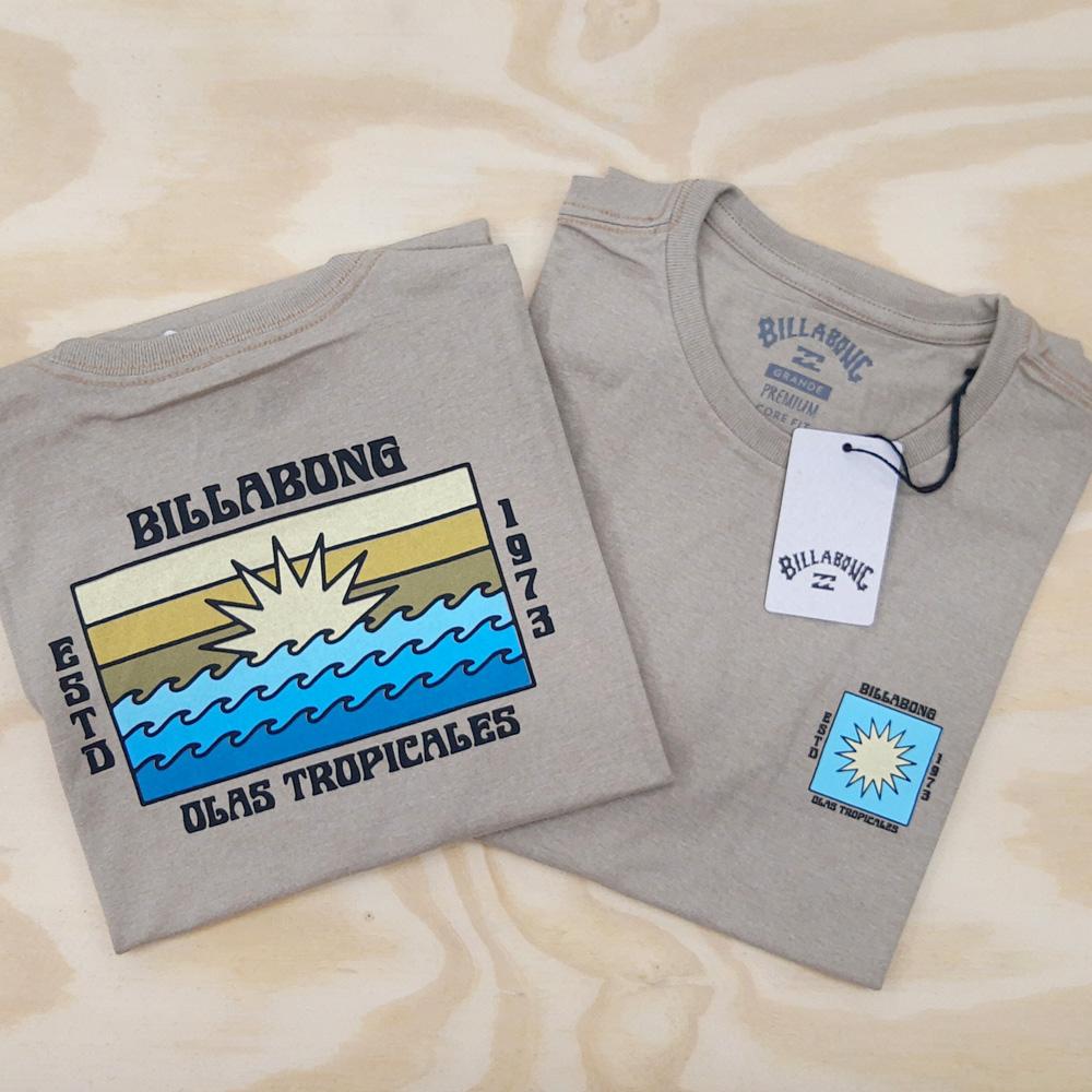 Camiseta Billabong Olas Areia