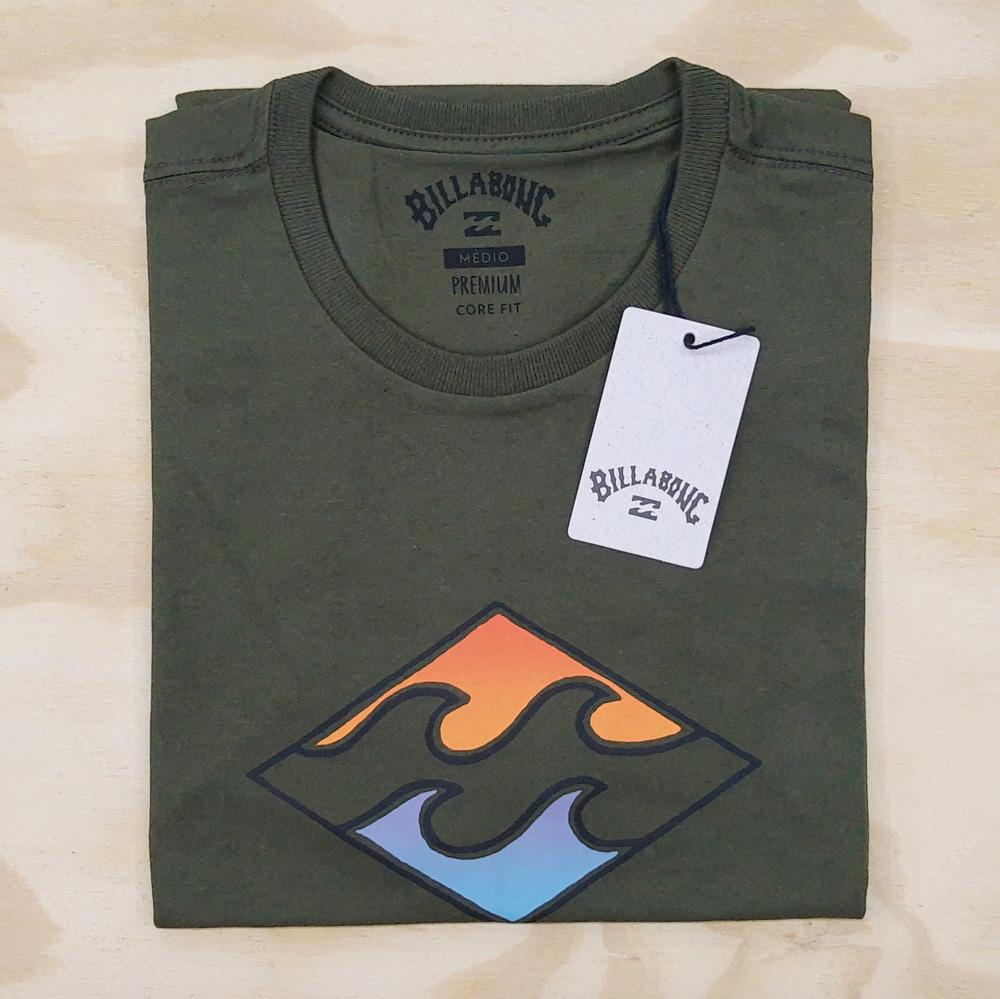 Camiseta Billabong Wave Verde