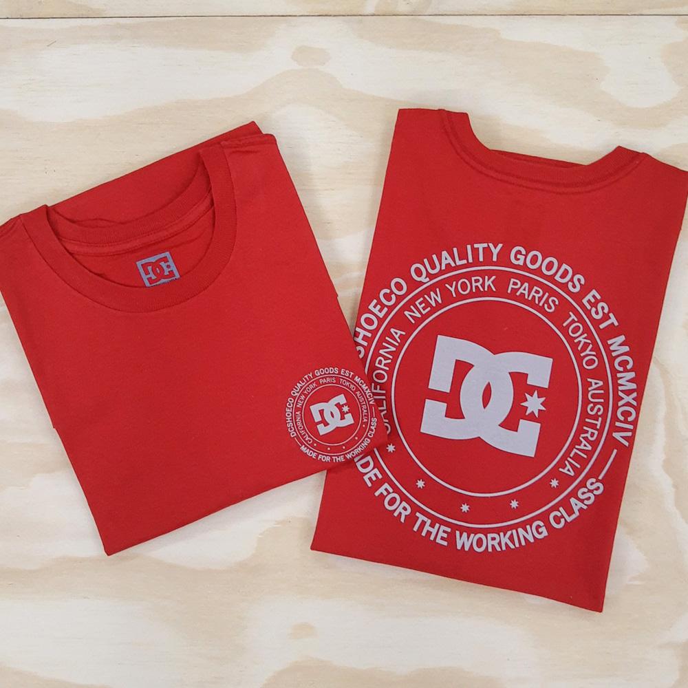 Camiseta DC Big City Vermelho