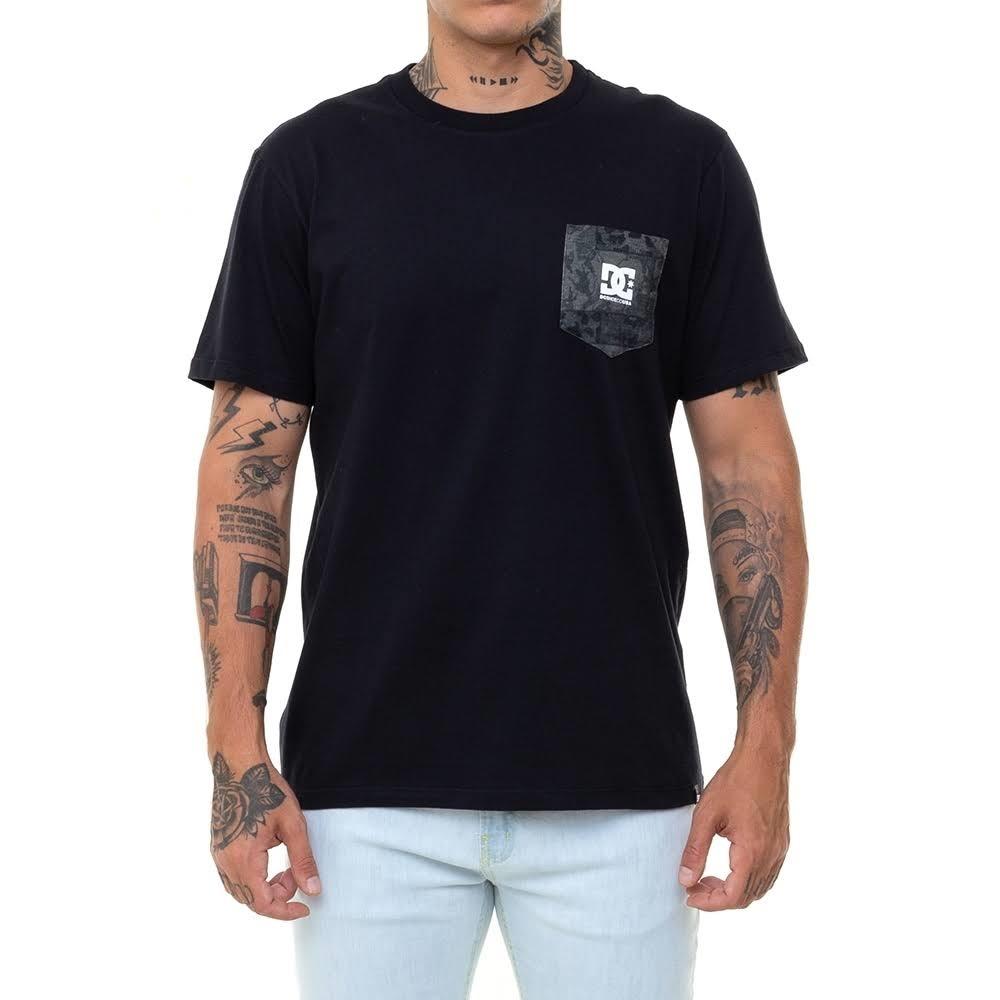 Camiseta DC Camo Pocket