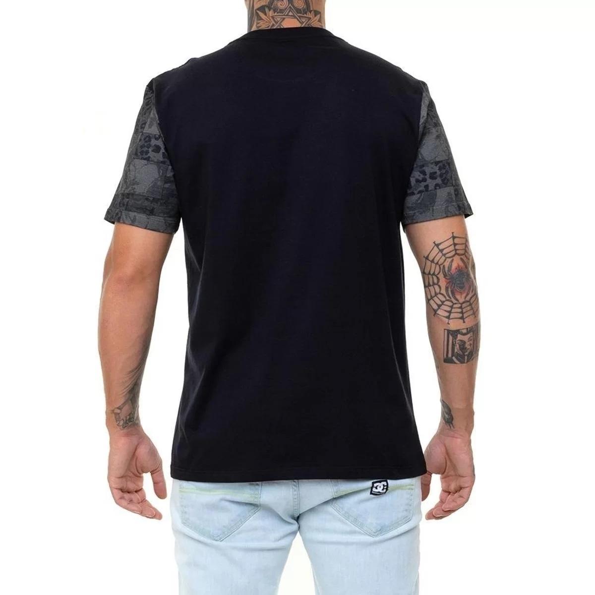 Camiseta DC Camo Sleeves