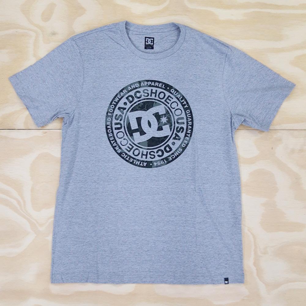 Camiseta DC Circle Star Cinza