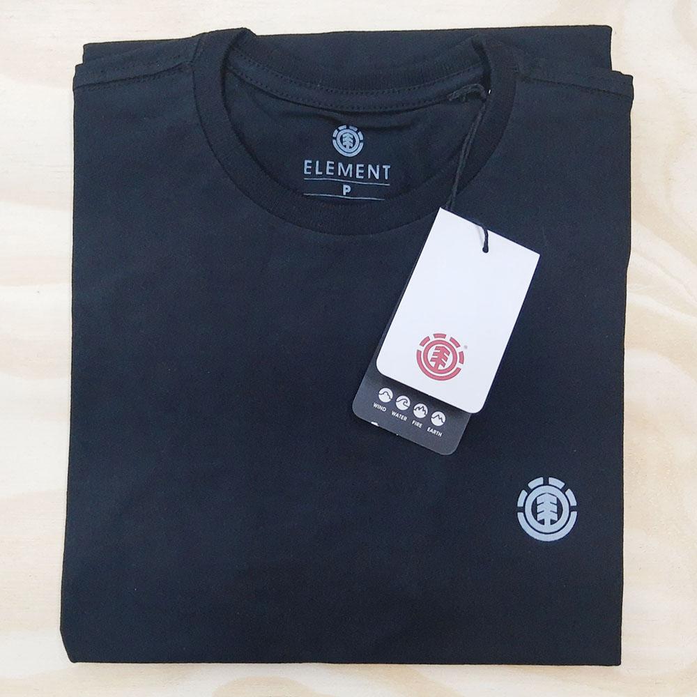 Camiseta Element Basic Crew Preta