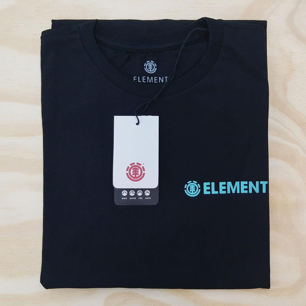 Camiseta Element Blazin Chest I Preta