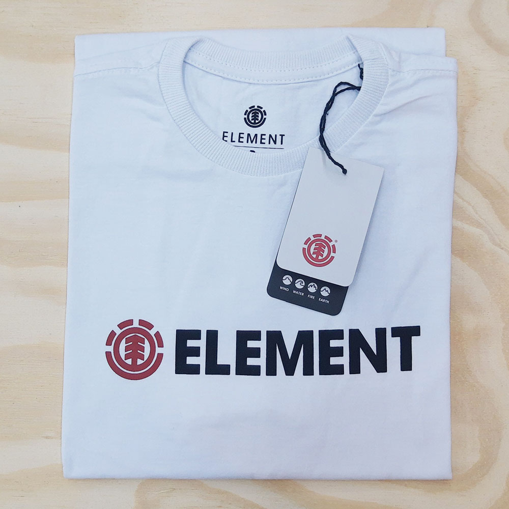 Camiseta Element Blazin I Branca
