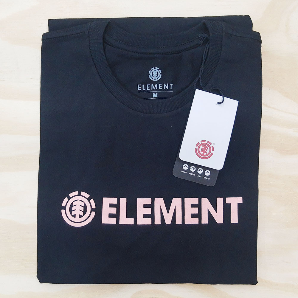 Camiseta Element Blazin I Preta