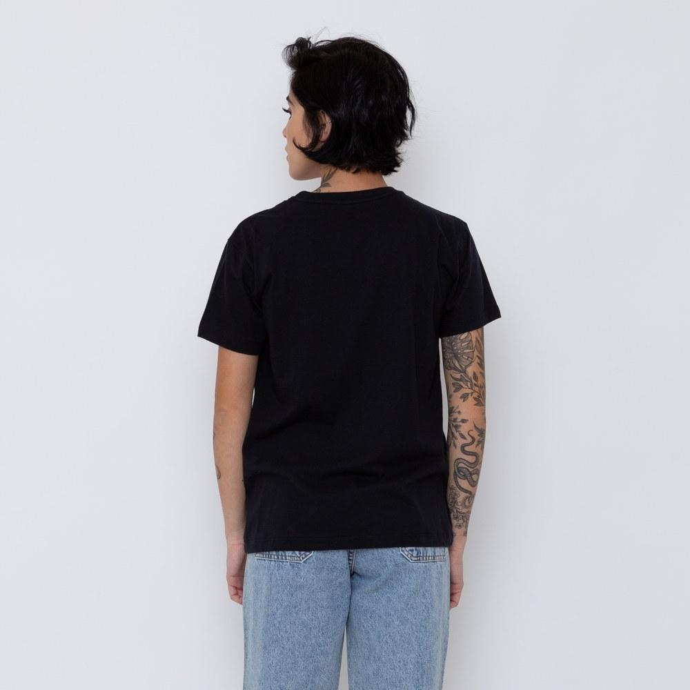 Camiseta Element Feminina Logo Preta