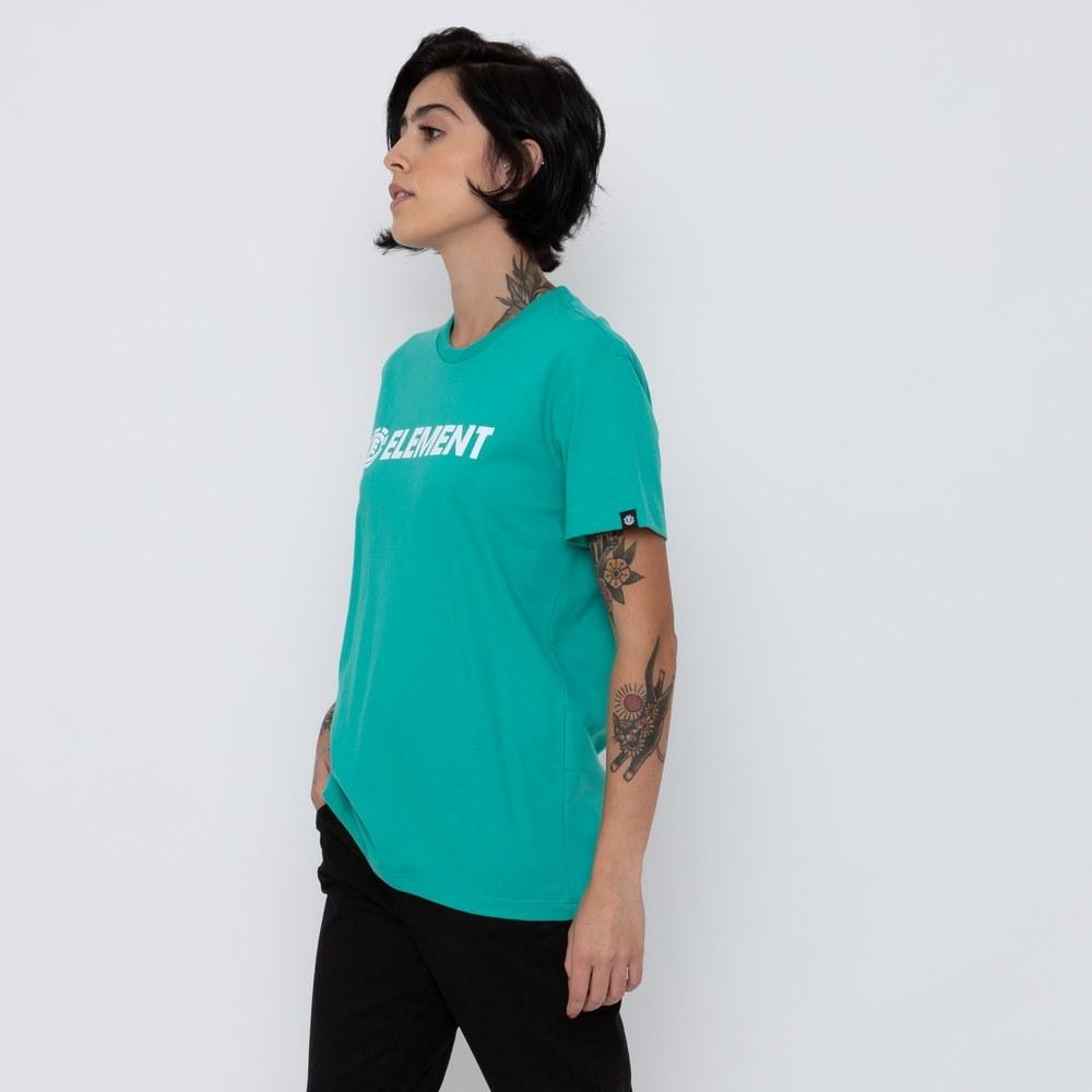 Camiseta Element Feminina Logo Verde